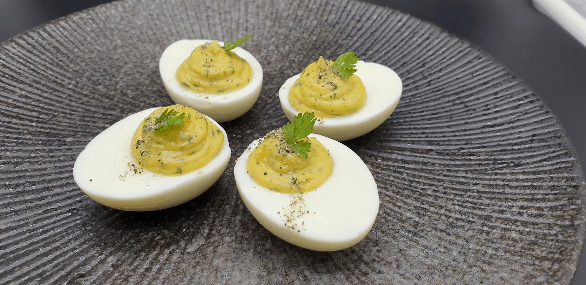 4 classic devilled eggs