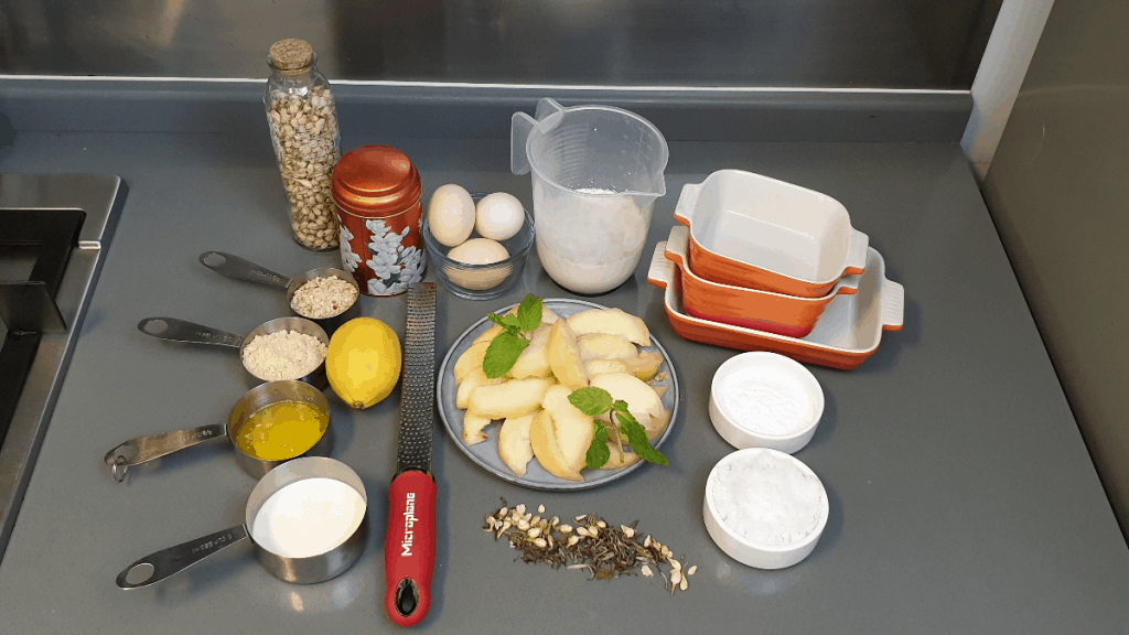ALL INGREDIENTS FOR CLAFOUTIS