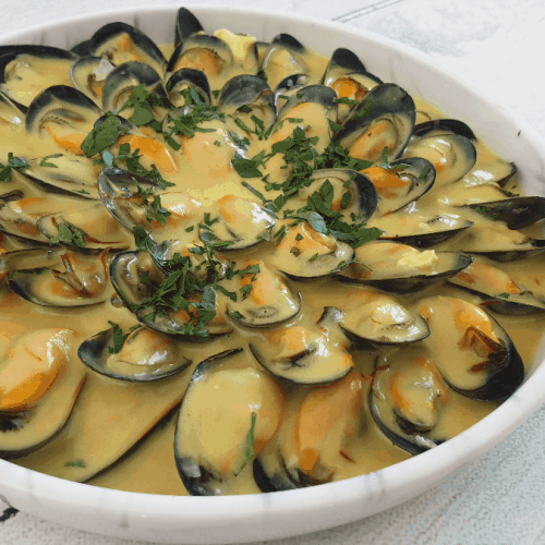 mouclade mussels
