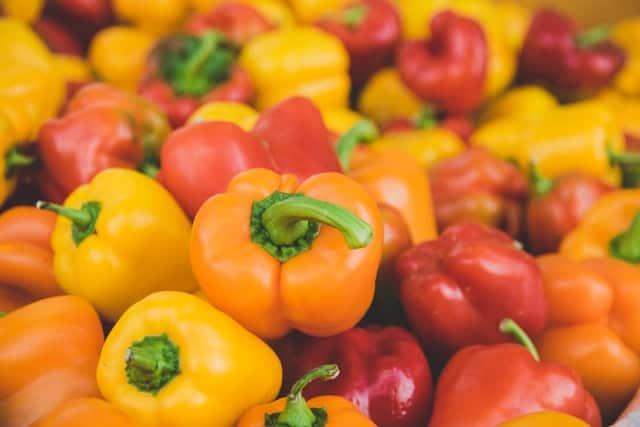 bell peppers in fall