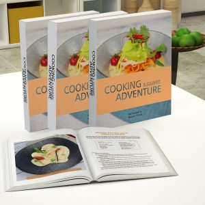 Cooking a culinary adventure cook book