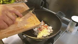 saute basic ingredients