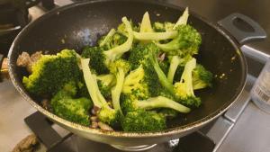 add the brocolli