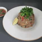 Green Curry Fried Rice with Prawns