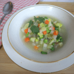 Easy to make vegetable soup