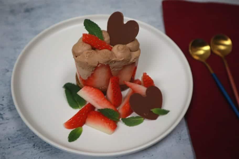 sweet valentines dessert