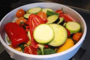marinate all vegetables