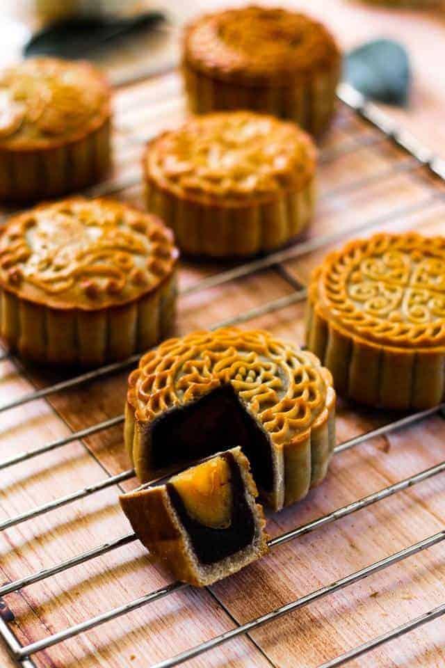 making mooncakes